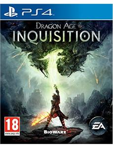 PLAYSTATION 4 DVD DRAGON AGE INQUISITION PS4 GAME