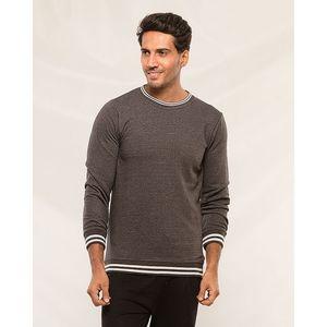 PakistanShop Charcoal Sweat shirt for men