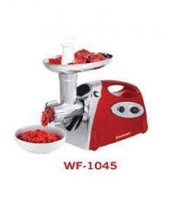 Wf-1045 - Deluxe Meat Grinder - Red - 1200 Watts - (2 Years Brand Warranty)