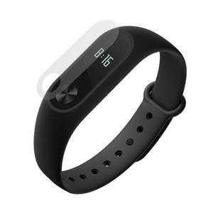 Amazing  2pcs Clear Anti-Scratch Screen Protector Film For Xiaomi Mi Band 2 Smart Watch