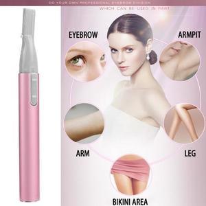 Super Sky Women Ladies Body Shaver Razor Epilator Mini Portable Electric Eyebrow Trimmer Hair Remove For Bikini Underarm Leg