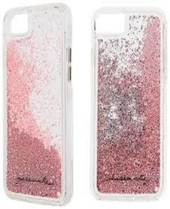 For Samsung J5 2016 Moving Glitter Pink Mobile Cover