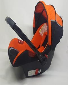 Baby Carry Cot - Orange & Black