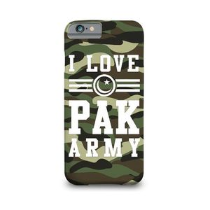 I Love Pak Army Printed Mobile Cover (Samsung S7)