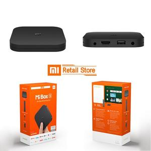 1More | Xiaomi Mi Box 4C 4K TV Box Amlogic Cortex-A53 Quad Core 64bit 1G+8G DTS-HD 2.4GHz WiFi USB 2.0 Set-top Box with Remote Control | Black