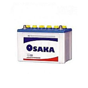 Osaka Batteries S100+ - 11 Plates - Acid Battery - White
