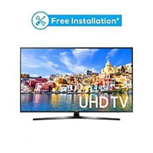 "SamsungMU7350 - 49"" Curved 4K UHD Smart LED TV - Black"