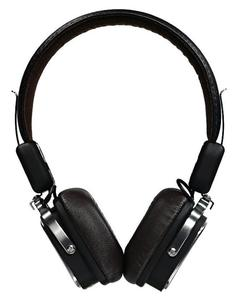 Rb-200HB - Leather Bluetooth 4.0 Headphone - Black