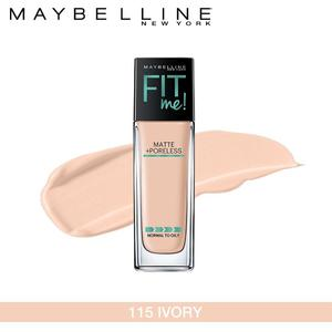 Maybelline New York Fit Me Matte + Poreless Foundation (115 Classic Postage-30ml)