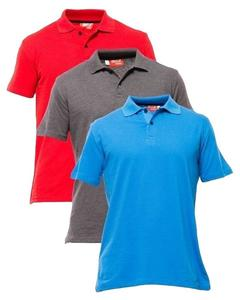 Pack of 3 Multicolor Polo T Shirt for Men