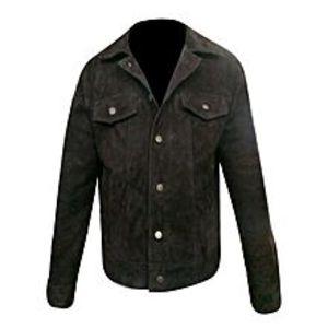 TASHCO ClothingBrown Leather Jacket For Men