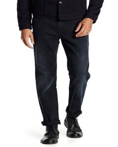 Dark Blue Regular Fitted Jeans