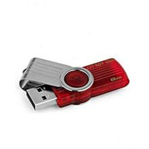 Kingston Dt101 - Usb 8 Gb - Red
