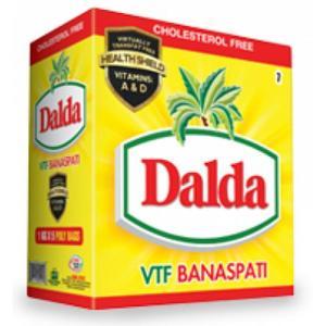 Dalda Banaspati Ghee Carton -  01 KG Pouch (Pack of 5)