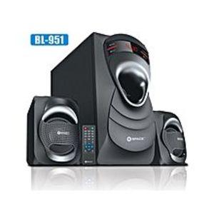 SPACEBL-951 Blast Wireless Speakers - Black