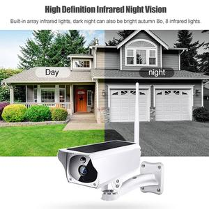 Wireless WiFi Solar IP Camera 1080P HD Security Monitor Audio Waterproof for Outdoor