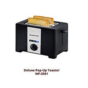 Westpoint Official WF-2561 - 2 Slice Pop-Up Toaster - Black