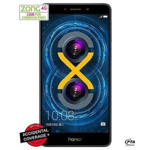 Huawei Honor 6x - 5.5 - 32 GB HDD - 3 GB RAM - 12 MP Camera - Dual Sim - Grey - 4G LTE