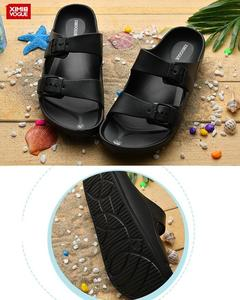 High Quality Flip Flop Slippers-Black-Size:41