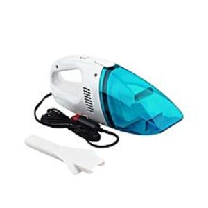 Kings Computers Portable Car Vacuum Cleaner - White & Blue