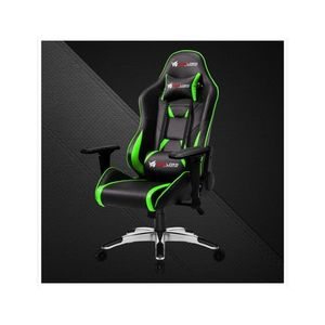 Slash Series PC Gaming Chair - Green/Black