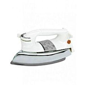 CambridgeDI332 Dry Iron - 1000 Watt - White & Grey