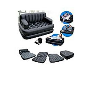 cherrydeals99As Seen On Tv 5 In 1 Sofa Bed - Black