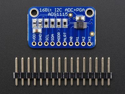 Raspberry Pi ADC ADS1115 16-Bit ADC – 4 Channel with Programmable Gain Amplifier