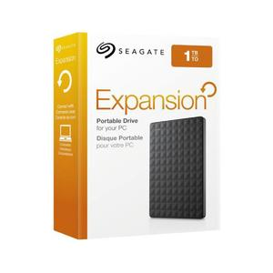 1TB Portable External Hard Drive USB 3.0 - Black