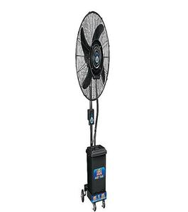 Mist Fan Pedestal - 24″- Black