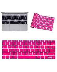 MacBook Laptop Keyboard Protector (Pattern 2) - Pink