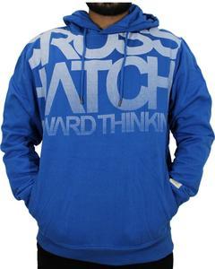 Men Fleece Hoody Pullover Sweatshirt Hoodie Blue For Men's