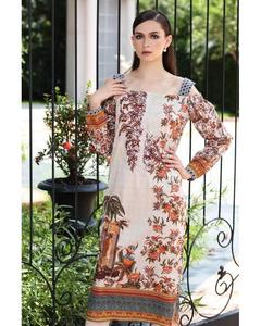 So Kamal Winter Collection  Multi Cotton Embroidered 1PC -Unstitched Shirt DFP18 537 EF01141-STD-MLT