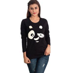 Pearl Black Panda T-shirt for Women