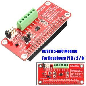 Intelligence 16 Bits I2C ADS1115 Module ADC 4 Channel for Raspberry Pi 3/2 Model B/B+