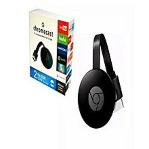 GoogleChromecast 2 Hdmi Tv Streaming Device Black For Mobile & Tablets