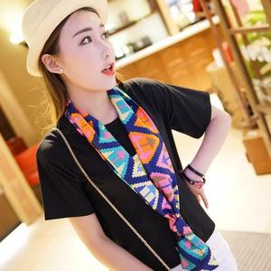 FashionieStore Woman's scarf Women Chiffon Scarf Large Satin Scarf Headband Summer Style Scarves