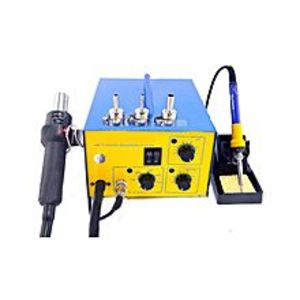 Pakistan Online Shop Smd Rework Station Heat Air Gun With Soldering Iron