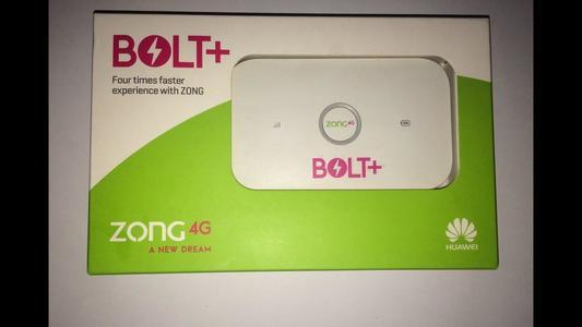 Zong 4G internet device Bolt+ Wifi Cloud