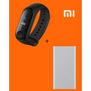 MI Band 3 Original + MI 10000mAh Power Bank 2 Original Black