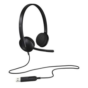 USB Headset for Windows and Mac USB Headset H340, Stereo,