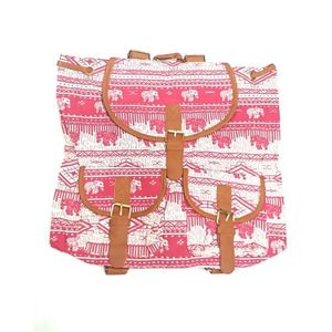 Pink College Bag For Girls