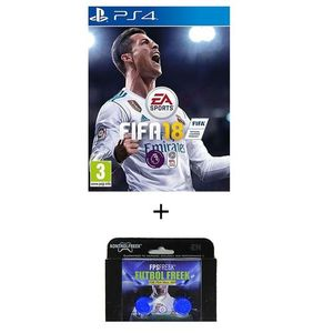 Pack of 2 - FIFA 18 DVD PS4 Game & Kontrol Freeks