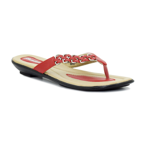 Bata Women Summer Collection 2020 Red Synthetic  Sandal  561-5781-36