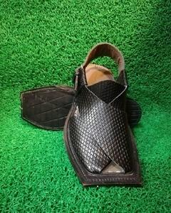 Pure Leather Captan Peshawari Sandals