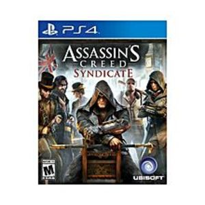 SonySony Playstation 4 Dvd Assassin Creed Syndicate Ps4 Game