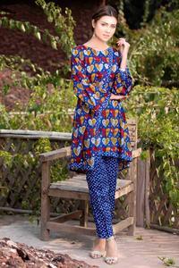 SITARA STUDIO Sapna Collection 2019 Multicolor Lawn 2PC Unstitched Suit For Women - 6127 B  (Un-stitched)