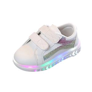 Perfect Meet Princess shoes Children Baby Girls Boys Bling Led Light Luminous Running Sport Sneaker Shoes