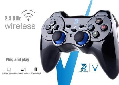 ZD V 2.4Ghz Wireless Controller for PC(Windows XP/7/8/8.1/10) & Playstation 3 & Android&Steam Not Support The Xbox 360/One (V208)