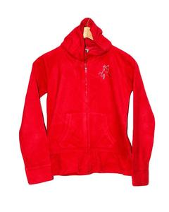 Stylish Red Printed Hoodie Jacket for Boy
